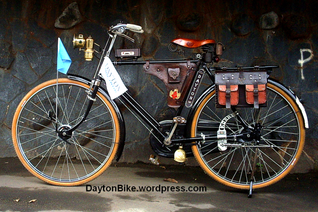 Dayton old bicycle made in England