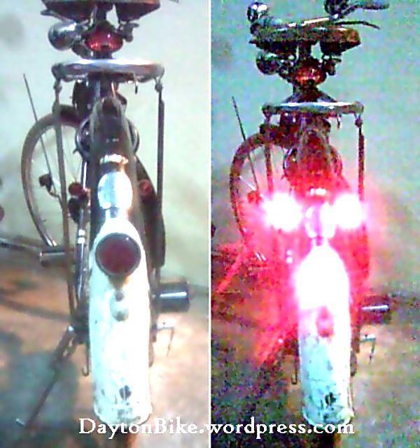 Modifikasi - #4 1. Tambahan lampu LED belakang. Jika rem belakang ditekan, maka lampu stop-an belakang dan dua lampu stop-an samping kiri-kanan akan menyala. Akan lebih aman untuk perjalanan di malam hari.