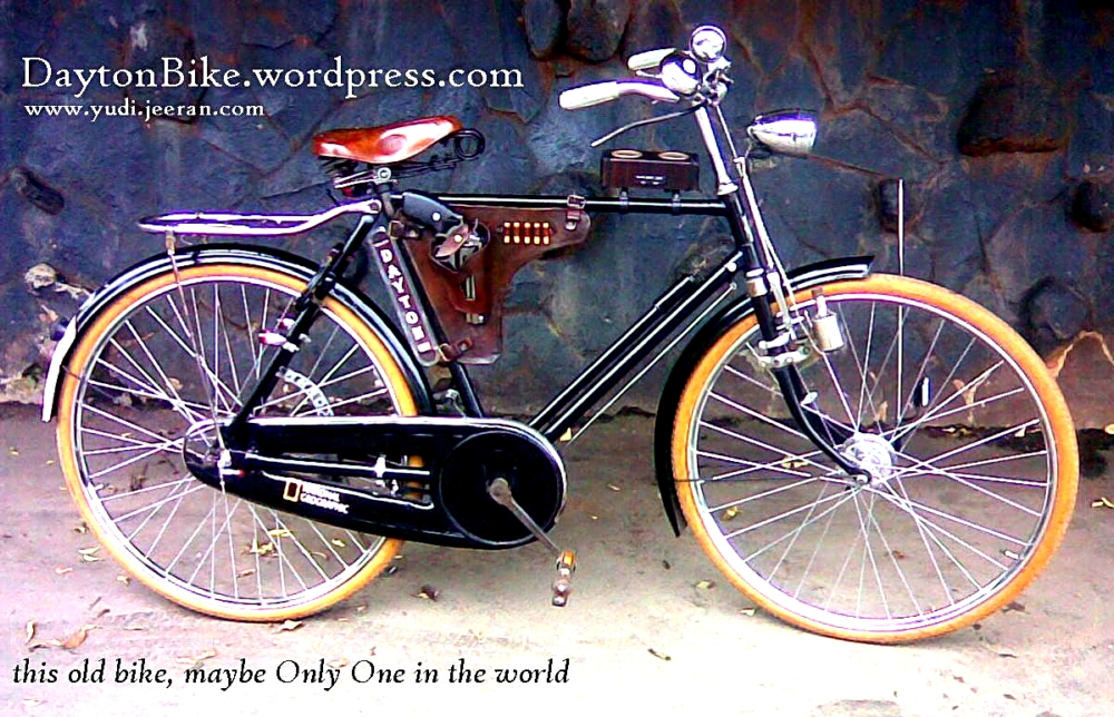 Modifikasi Sepeda Ontel Kuno