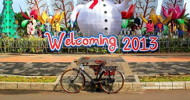 Dayton bike onthel Ancol Desember 2012