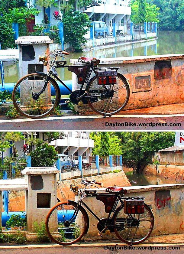 Dayton bike Jakarta floods 15-19 January 2013
