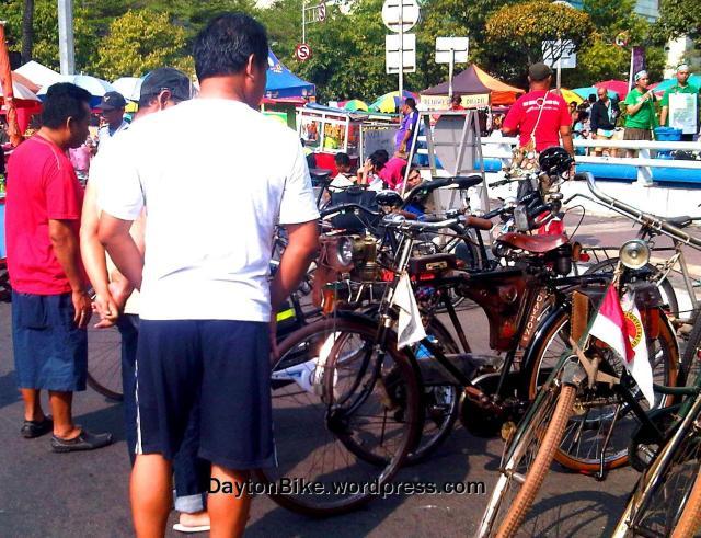 sepeda onthel old bike dayton CFD - 4 Oktober 2015 - 02