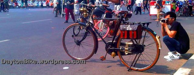 sepeda onthel old bike dayton CFD - 4 Oktober 2015 - 03