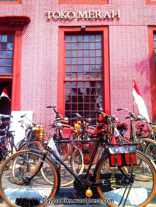 Dayton bike bicycle sepeda onthel toko merah kota tua 02
