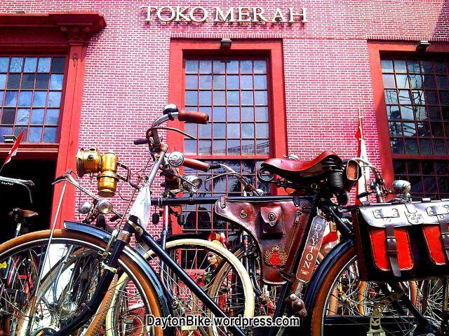 Dayton bike bicycle sepeda onthel toko merah kota tua