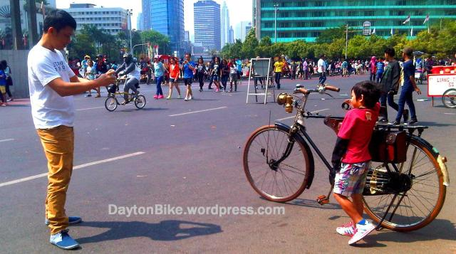 sepeda onthel old bike dayton CFD - 4 Oktober 2015 - 04